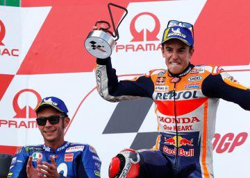 Márquez, la victoria de la paciencia en Sachsenring