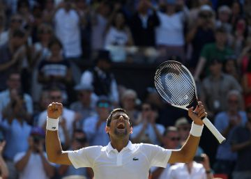 Djokovic vence a Anderson y es el campeón de Wimbledon
