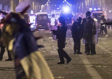 Un muerto, saqueos, enfrentamientos y casi 300 detenidos en Francia en la celebración del título mundial