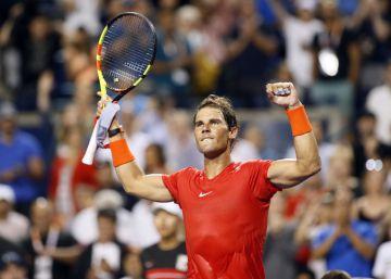 Nadal pasa a octavos en Toronto con una cómoda victoria (6-2 y 6-3) ante Paire