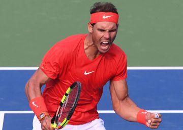 Rafa Nadal vence a Tsitsipas y gana el Masters 1000 de Toronto