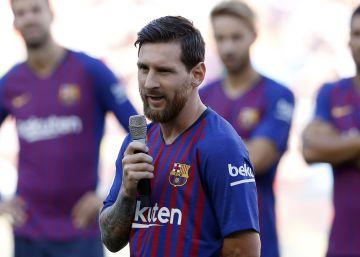 """Messi: """"Queremos que la Champions vuelva al Camp Nou"""""""