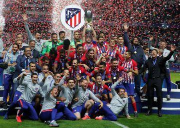 El Atlético exhibe más recursos