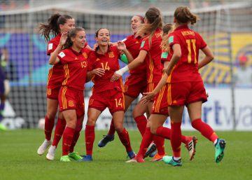 España se mete por primera vez en las semifinales de un Mundial sub-20