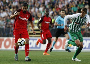 El Sevilla golea al Zalgiris y sigue adelante en Europa