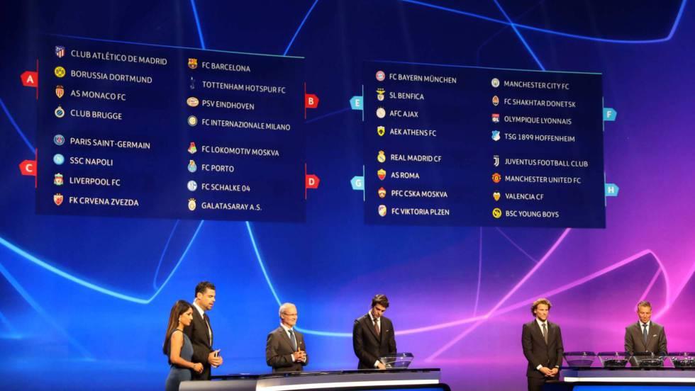 Sorteo de la Champions  asequible para Madrid y Atlético 00f6671d83ed4