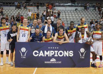 El Andorra arrolla al Barça en la final de la Lliga Catalana (76-94)