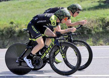 Los esprínters de la montaña se entregan a la contrarreloj para jugarse la Vuelta