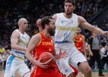 España se atasca ante Ucrania