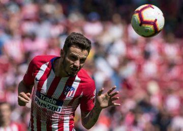 El Atlético rescata un punto ante el Eibar en el último instante (1-1)
