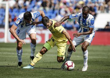 Fornals cambia al Villarreal para vencer al Leganés