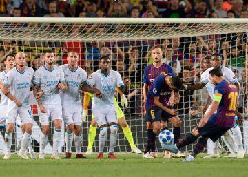 Messi y su cara de Champions