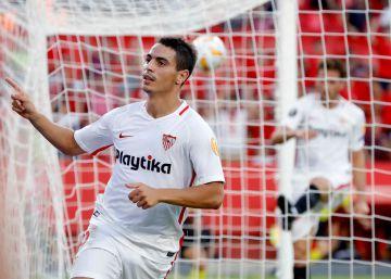 El Sevilla tira de pegada y vapulea al Standard