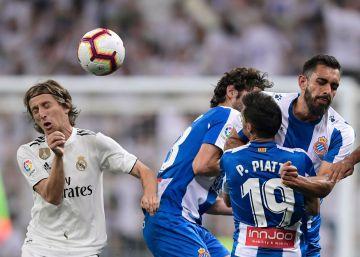 El Real Madrid vence por la mínima al Espanyol con un solitario gol de Asensio