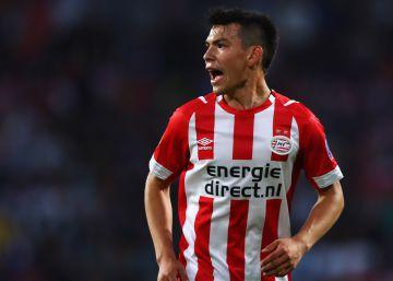 'Chucky' Lozano, un consuelo para el PSV Eindhoven