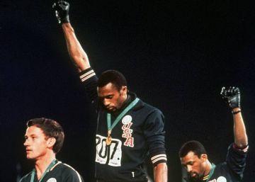 """John Carlos recuerda el 'Black Power' de México' 68: """"Hicimos una sociedad mejor"""""""