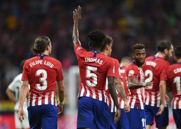Una noche plácida para el Atlético ante el Huesca