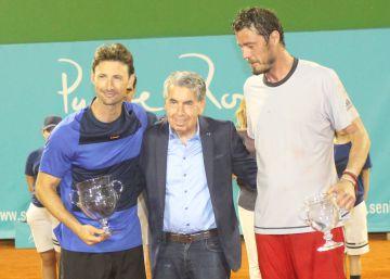 Ferrero eleva la Senior Masters Cup