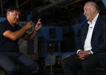 """Del Bosque y Toni Nadal: """"Hay entrenadores muy buenos que en lo humano son catastróficos"""""""