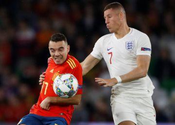 Inglaterra vence a España