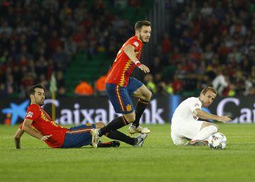 A España se le encoge el pie