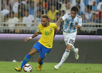 Brasil se lleva el Superclásico centenario frente a una Argentina sin Messi