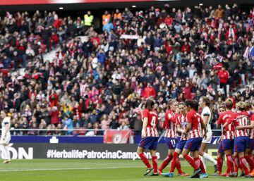 El Atlético de Madrid cae goleado en un escenario maldito