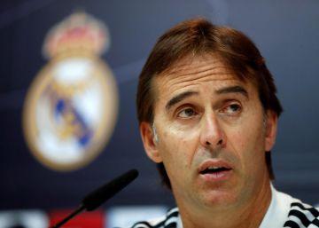 """Lopetegui: """"Bale ha sido muy responsable"""""""
