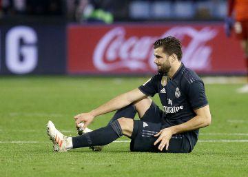 Nacho, de baja dos meses por lesión, se perderá el Mundial de Clubes