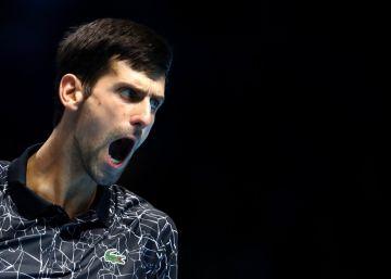 Djokovic, el látigo para los fuertes