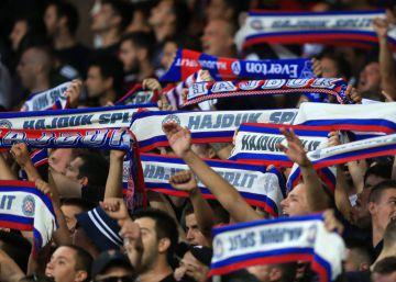 Hajduk Split, del antifascismo a la esvástica