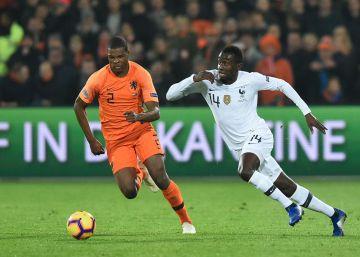 Holanda gana y manda a Alemania a la Liga B