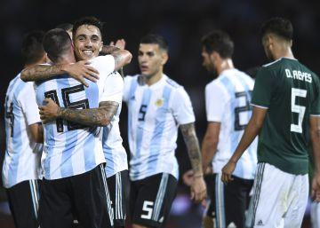Argentina disfruta de una victoria ante México en la antesala del River - Boca