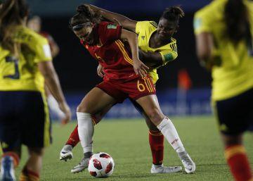 España no pasa del empate con Colombia (1-1)