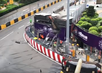 Espectacular accidente de Sophia Floersch en Macao