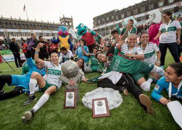 México triunfa en el fútbol de los olvidados