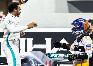 Fernando Alonso se va consigo mismo