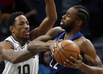 Los Spurs reciben una paliza de campeonato en Minnesota