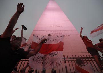 Buenos Aires, en rojo y blanco