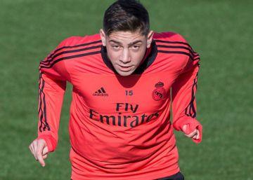 Valverde se hace un hueco en el Madrid