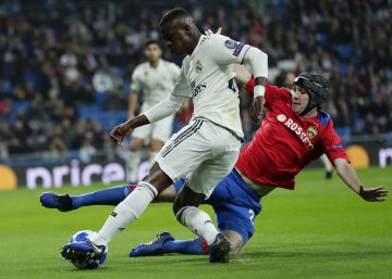 El CSKA golea al Real Madrid (0-3)