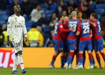 Baile ruso en el Bernabéu
