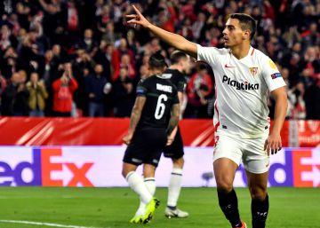 Ben Yedder apaga el fuego en el Sevilla