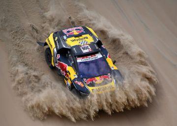 Sébastien Loeb rentabiliza la estrategia para ganar la segunda etapa al ataque