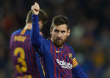Remata el Madrid, golea Messi