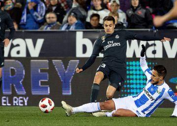 El Real Madrid avanza a los cuartos de la Copa del Rey pese a caer el Leganés