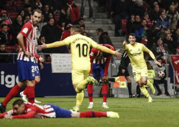 El Girona se lleva por delante al Atlético