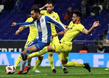 Borja Iglesias le da un respiro al Espanyol y elimina al Villarreal