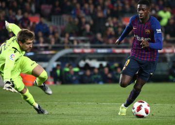 Chumi eclipsa a Dembélé y el pase del Barça ante el Levante