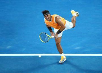 Nadal gana a Tiafoe y se clasifica para las semifinales del Open de Australia
